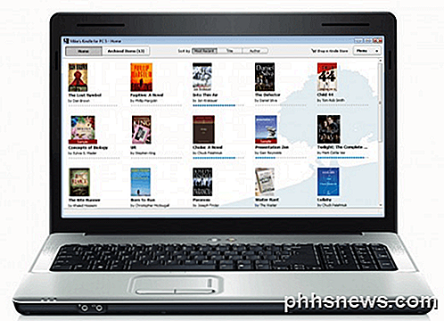 Verander uw laptop, netbook of desktop in een eBook Reader
