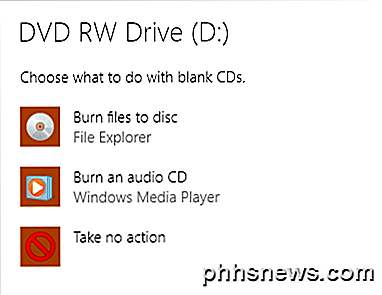Como gravar CDs, DVDs e discos Blu-ray no Windows