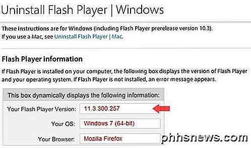 descargar adobe flash player para windows 7