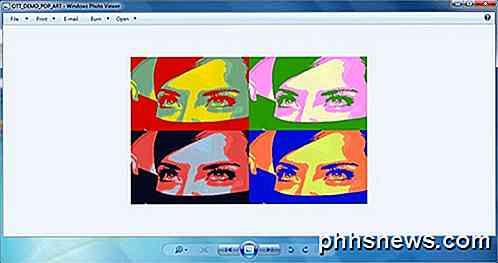 Fügen Sie Den Andy Warhol Pop Art Effekt Zu Fotos Auf Die Einfache