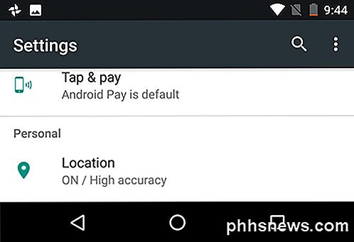 eccc6f015956e5 Si vous remarquez, il existe une autre option appelée Google Location  History .