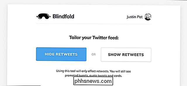 Blindfold Hides All Retweets, gör Twitter Seem Less Angry