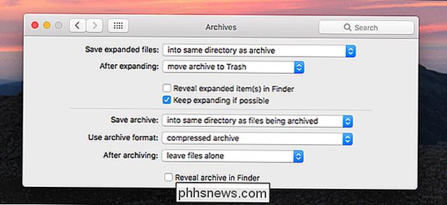 Modifier Comment Macos Gere Les Fichiers Zip Avec Ces Preferences
