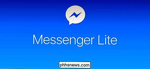 Facebook Messenger Lite est une excellente alternative à Facebook Messenger