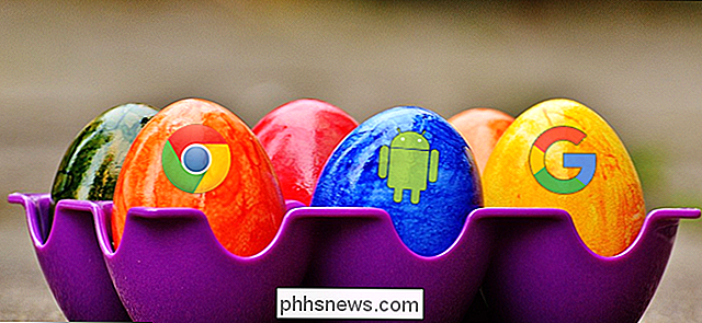 Google's 'Best Hidden Games' en 'Easter Eggs'