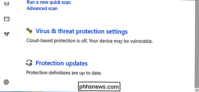 Hvordan virker Windows Defender's