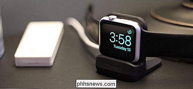 Comment fonctionne le mode Nightstand sur Apple Watch