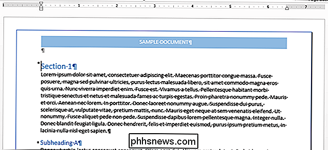 Come aggiungere un bordo a un'intera pagina in Word
