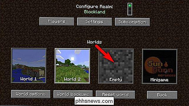 Minecraft Karte Machen.Wie Man Dem Minecraft Realms Server Benutzerdefinierte Welten