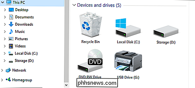 Come aggiungere il Cestino a Windows File Explorer