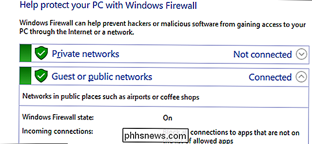 Apps toestaan ​​te communiceren via de Windows Firewall