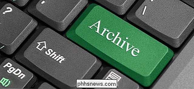 Come archiviare i messaggi e-mail in Outlook 2013