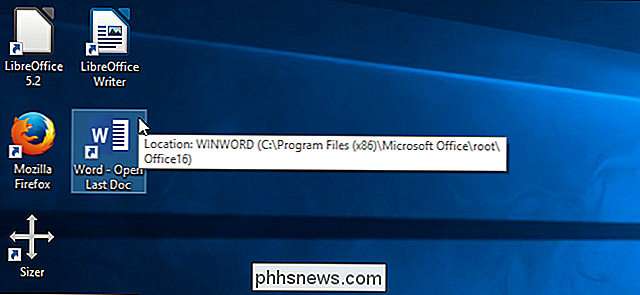 Come aprire automaticamente il documento più recente in Microsoft Word per Windows