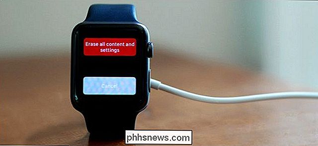 Back-up maken, wissen en herstellen van uw Apple Watch