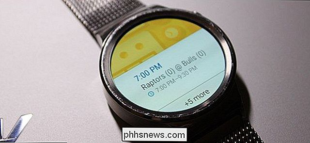 Comment bloquer les notifications d'applications spécifiques sur Android Wear
