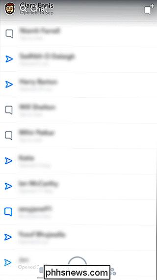 ikoner på snapchat