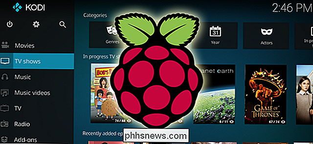 Come costruire un media center da $ 35 con Kodi e Raspberry Pi