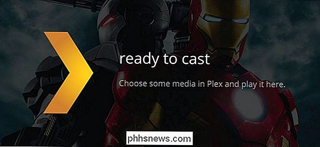 Video's van Plex Media Server naar uw Chromecast