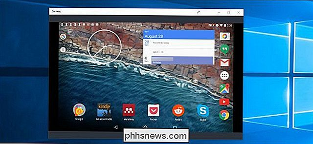 Come trasmettere il tuo schermo Windows o Android a un PC Windows 10