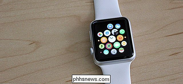 Comment modifier la mise en page de l'application Apple Watch en liste