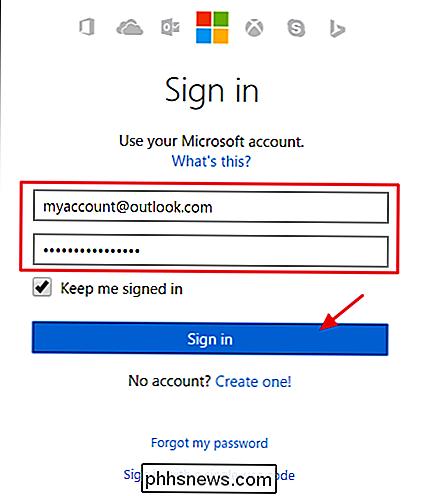 So ändern Sie Die Primäre E Mail Adresse Für Ihr Microsoft Konto
