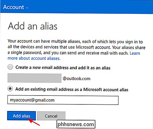Het primaire e-mailadres voor uw Microsoft-account wijzigen - nl