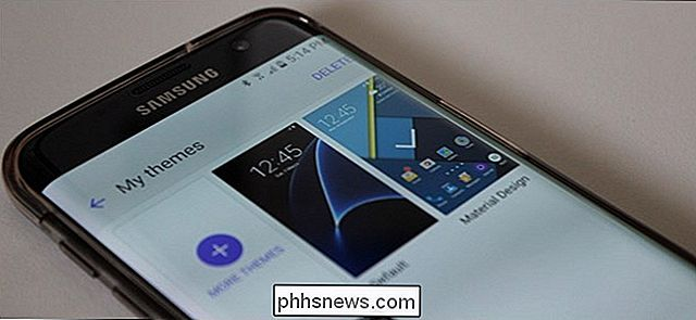 Como alterar temas no Samsung Galaxy Devices