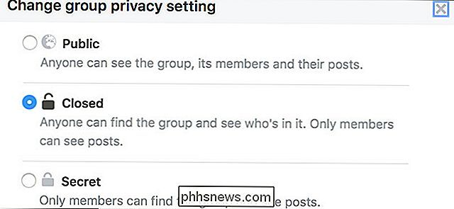 Come modificare la privacy del gruppo su Facebook