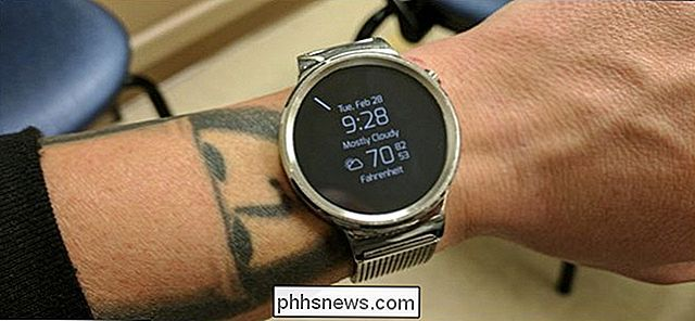 Come controllare il dispositivo Android Wear Watch rimanente