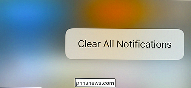 Come cancellare tutte le notifiche contemporaneamente su iOS 10
