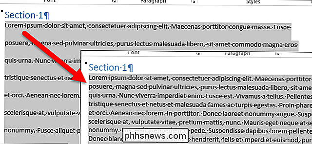 Suppression de la mise en forme dans un document Word