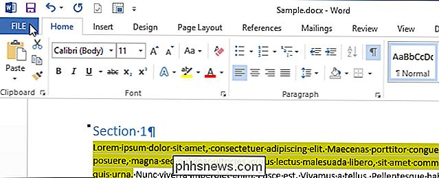 Como coletar várias seleções de texto realçadas em um único