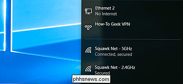 Comment se connecter à un VPN sous Windows