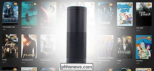 Plex Media Center besturen met de Amazon Echo