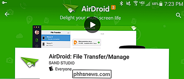 Como controlar o seu dispositivo Android a partir do seu PC Usando o AirDroid