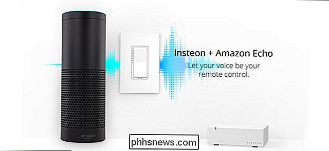 Hur man kontrollerar din Insteon Smarthome med Amazon Echo