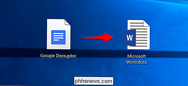 So konvertieren Sie ein Google Docs-Dokument in das Microsoft Office-Format