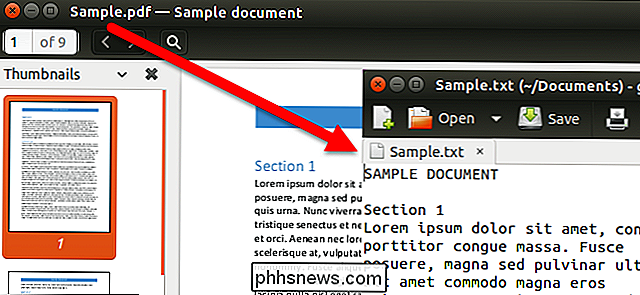 Come convertire un file PDF in testo modificabile utilizzando la riga di comando in Linux