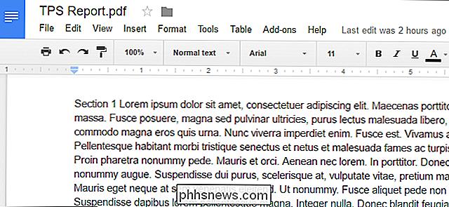 Så Här Konverterar Du PDFfiler Och Bilder Till Google Docsdokument - Google dokument