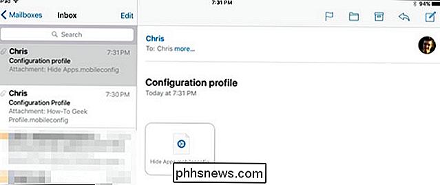 Como criar um perfil de configuração do iOS e alterar