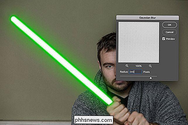 Come creare una spada laser in Photoshop - it phhsnews com