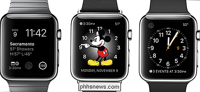 Come personalizzare, aggiungere ed eliminare Apple Watch Faces