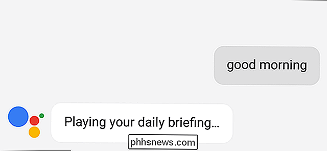 Slik tilpasser du Google Assistant Daily Briefing