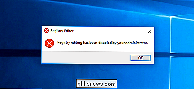 Come disabilitare l'accesso al registro di Windows
