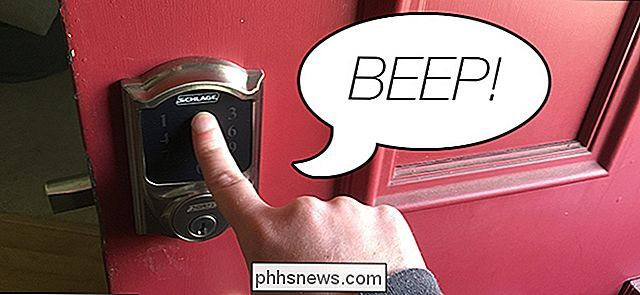 Como desativar o Beeper no Schlage Connect Smart Lock