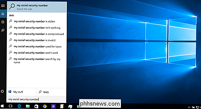 Come disattivare Bing nel menu Start di Windows 10