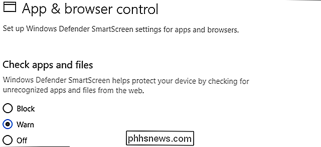 Het SmartScreen-filter uitschakelen In Windows 8 of 10
