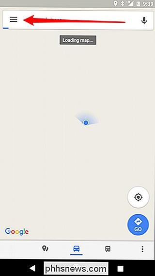 So laden Sie Google Maps-Daten für Offline-Navigation auf ... on