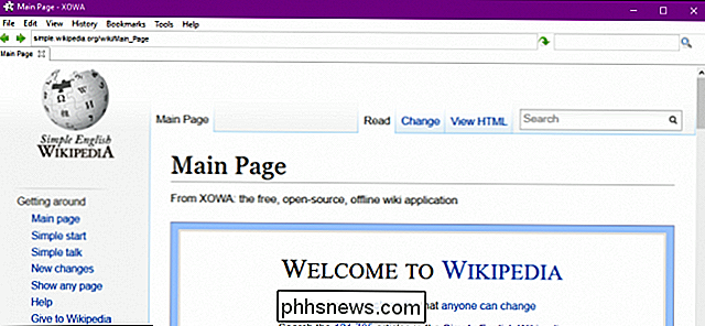 Sådan downloader du Wikipedia for offline, ved din fingerspids Læsning