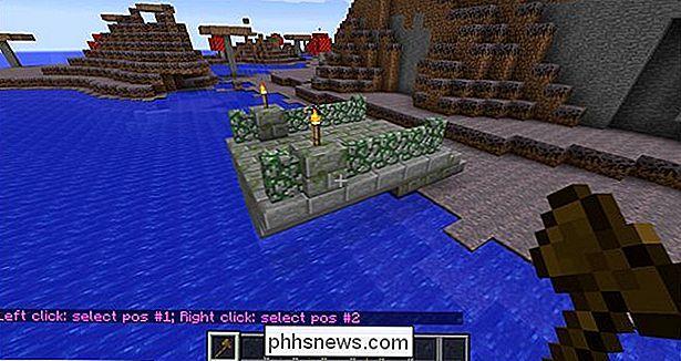 So Bearbeitest Du Deine Minecraft World Im Spiel Und Fliege Mit - Hauser in minecraft einfugen